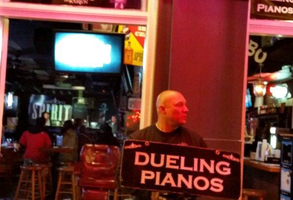 Dueling Pianos on Bourbon Street