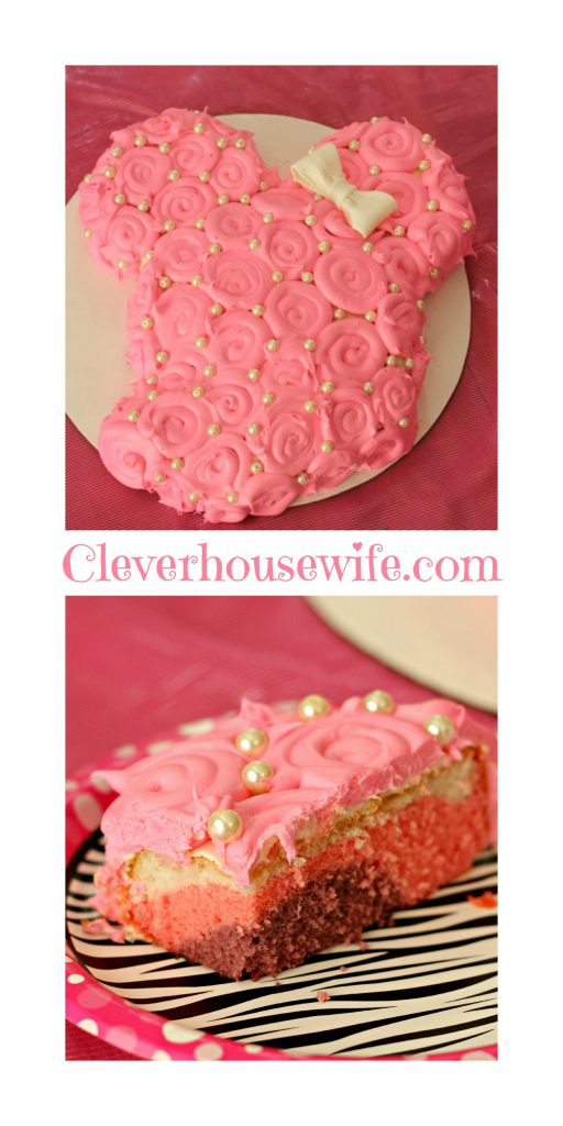 Minnie Mouse Cake Collage