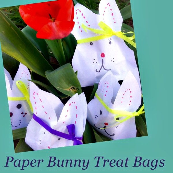 Paper Bunny Treat Bags