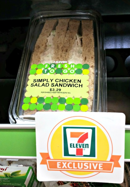 7-Eleven's Fresh To Go Simply Chicken Salad Sandwich
