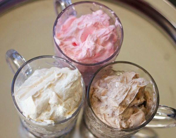 Flavored Whipped Cream