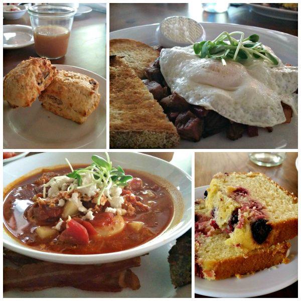 Los Poblanos Historic Inn Breakfast, Albuquerque