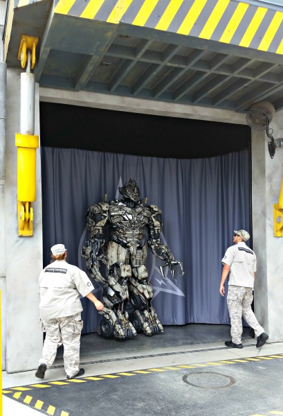 Transformers The Ride - 3D in Universal Orlando