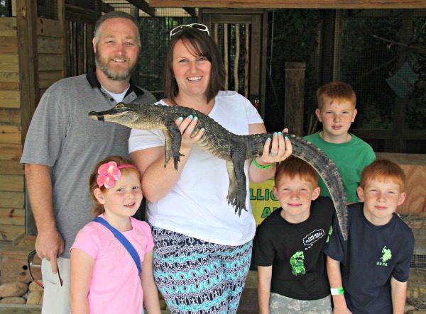 Buys family at Wild Florida
