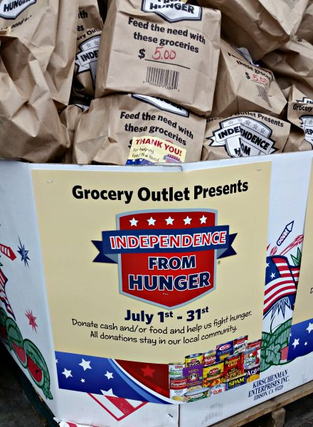 Independence from Hunger by Grocery Outlet