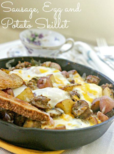 Sausage, Egg and Potato Skillet