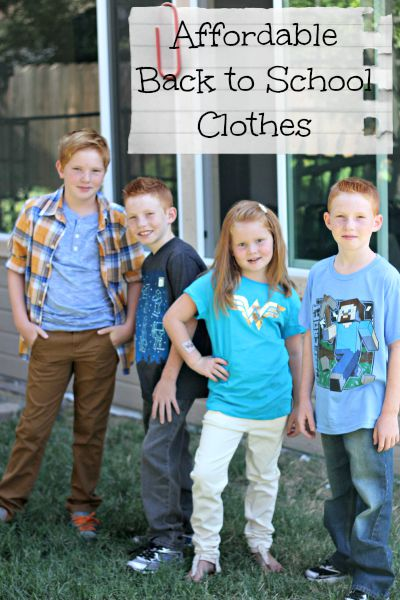 Affordable and Stylish Back to School Clothes