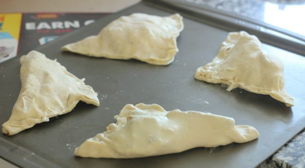 Easy Chicken and Bacon Turnovers