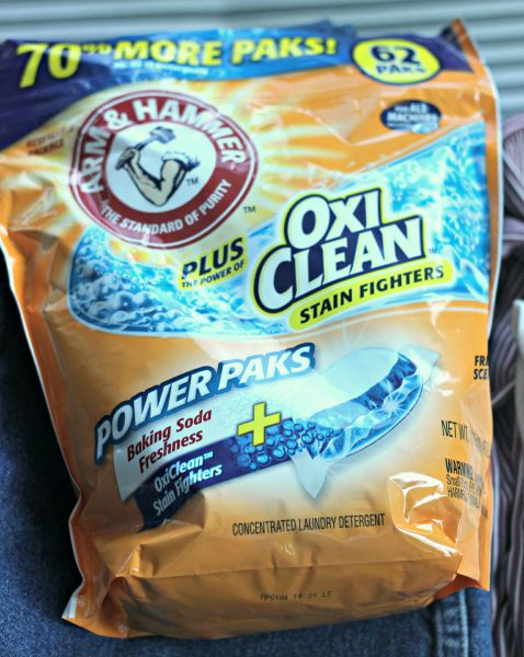 Arm & Hammer Plus OxiClean Ultra Power Power Paks