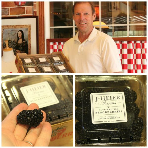 J Heier Farms Sutter Buttes Blackberries