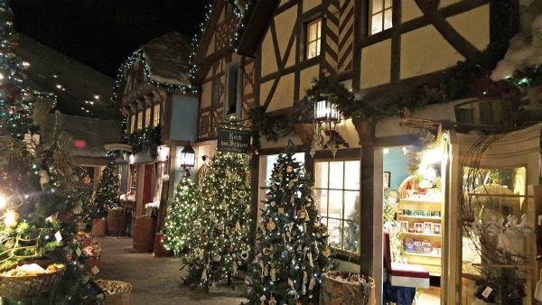 Yankee Candle Village Christmas Shops