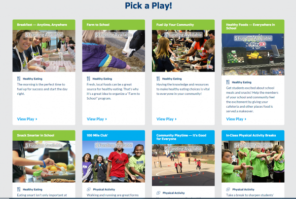 Pick a Play for Fuel Up to Play 60