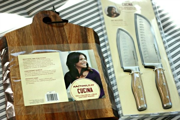Rachael Ray Knives and Cutting Board