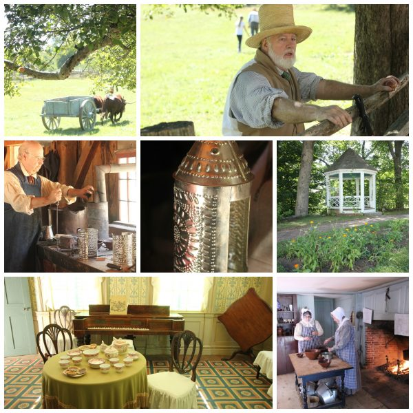 Step Into History at Old Sturbridge Village actors and artifacts