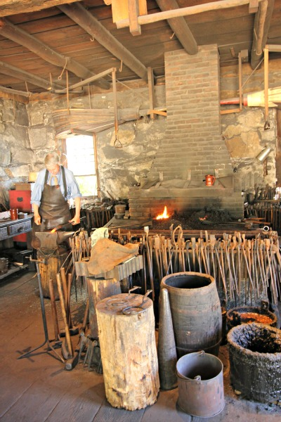 Step Into History at Old Sturbridge Village and the Blacksmith