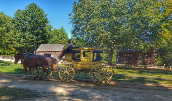 Step Into History at Old Sturbridge Village with a carriage ride