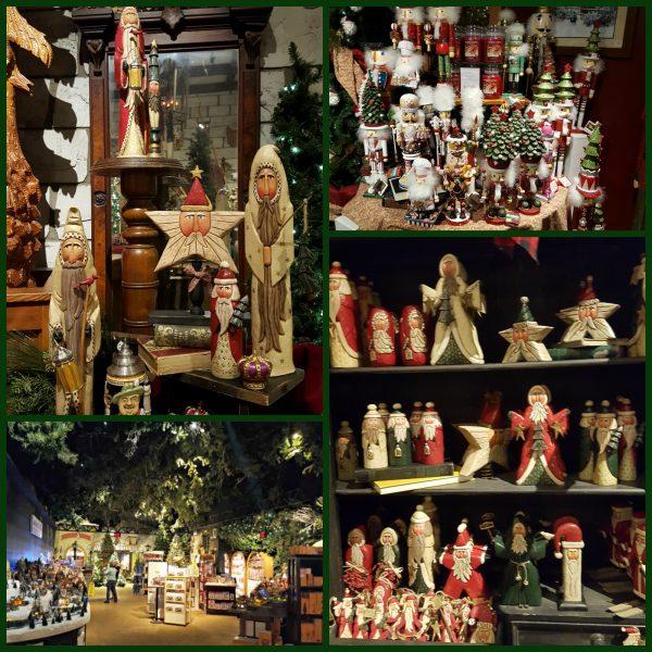 Yankee Candle Village Christmas Displays