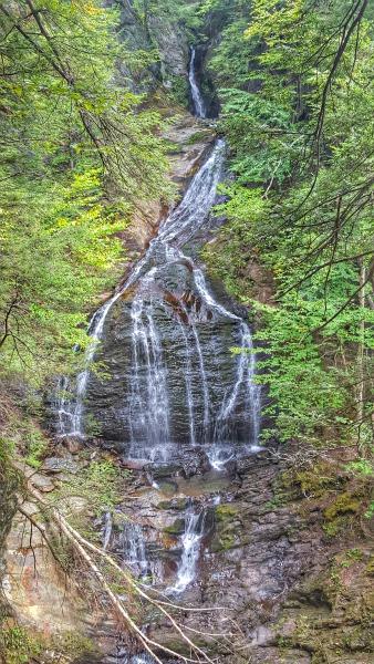 Moss Glen Falls near Stowe, VT