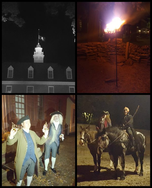 Haunting on Dog Street in Colonial Williamsburg