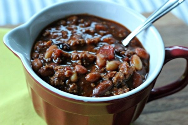 Award Winning Chili with a secret ingredient