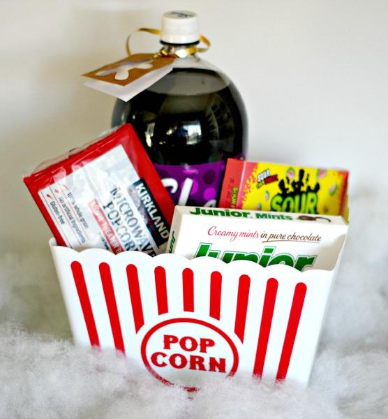 Family Movie Basket with Redbox Promo Code