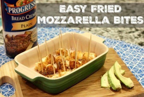 Easy Fried Mozzarella Bites