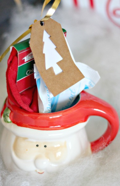 Mug with Socks and Hot Chocolate, with Redbox Promo Code