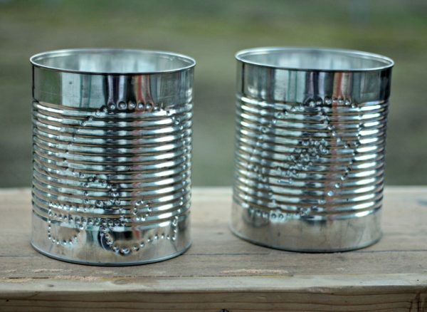 Tin Football-Themed Containers