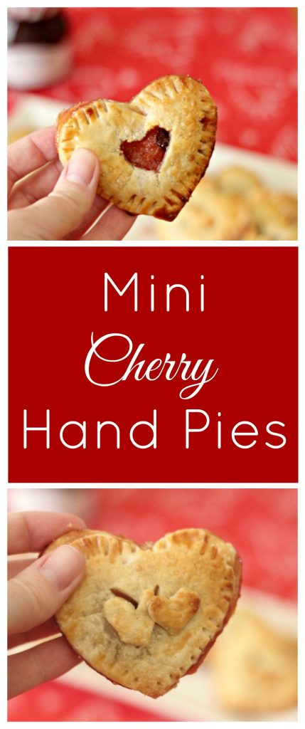 Show your loved ones you care with these adorable bites of sweetness. Mini Cherry Hand Pies are easy to make for a sweet treat.