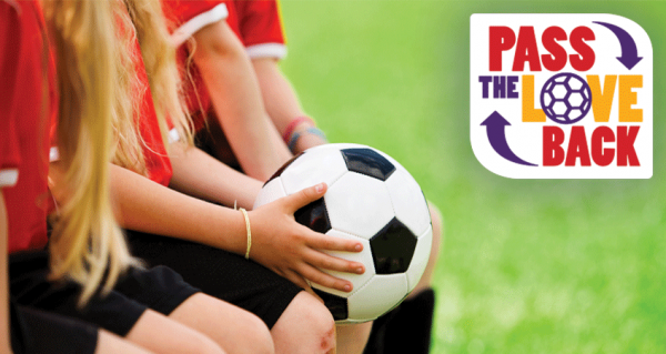 Passing the Love Onto Our Soccer Kings - earn money for your soccer team!