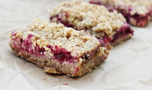 Plum Breakfast Bars for an easy breakfast on the go.