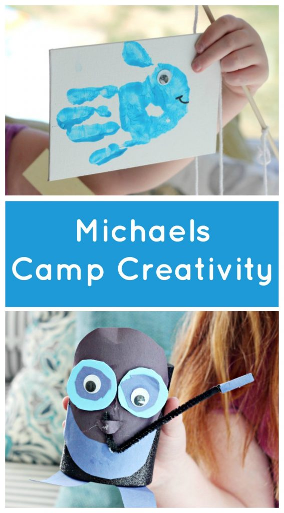 Allowing Kids To Craft All Summer At Camp Creativity At Michaels