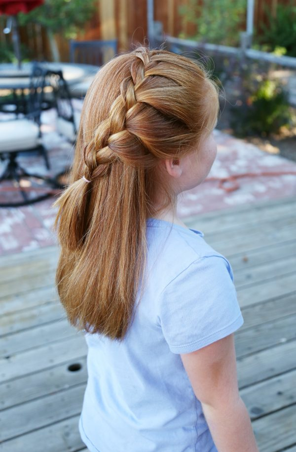 Floating Lace Braid Tutorial