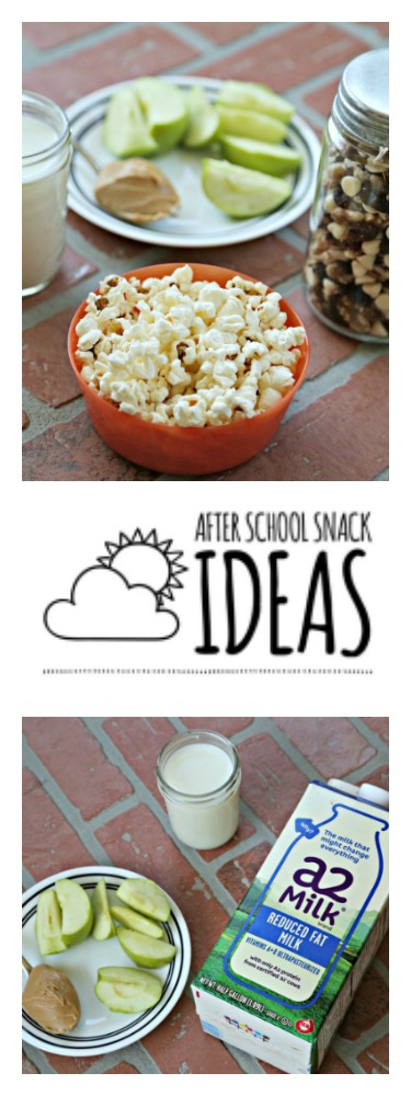 After School Snack Ideas the kids can make for themselves
