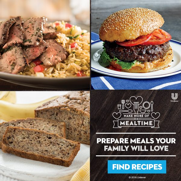 Make More of Mealtime Recipes from Safeway and Unilever