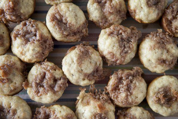 Mini & Moist Banana Muffins