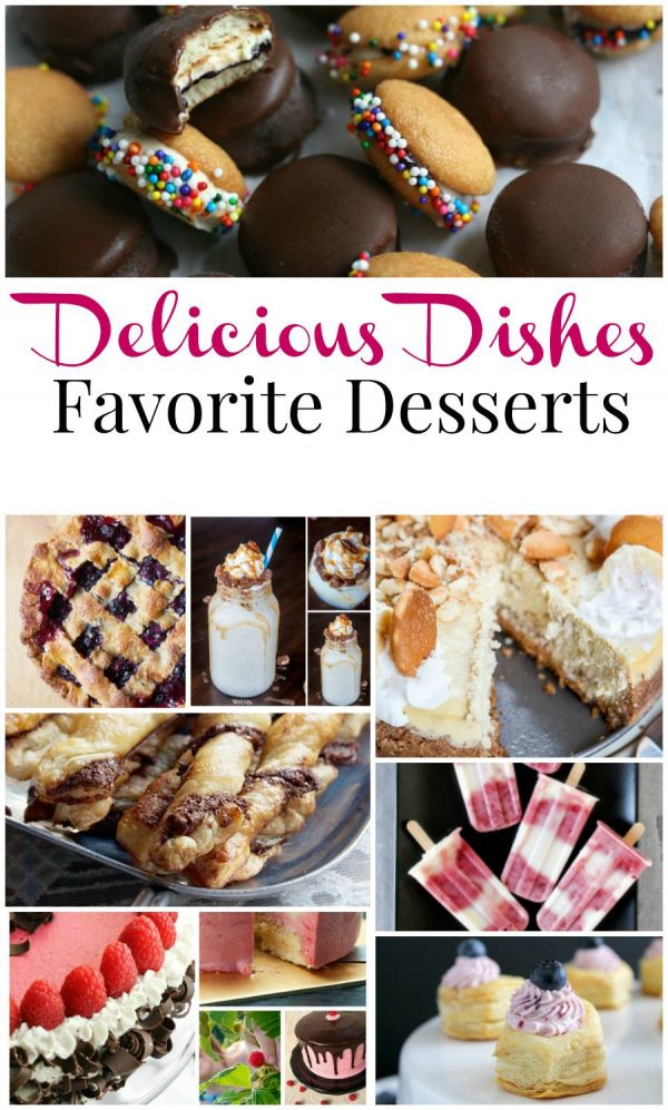 Delicious Dishes Favorite Summer Dessert Recipes
