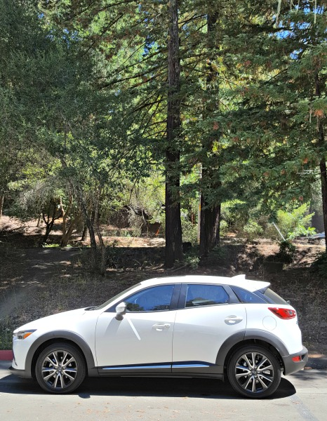 Driving Through Wine Country in the Mazda CX-3