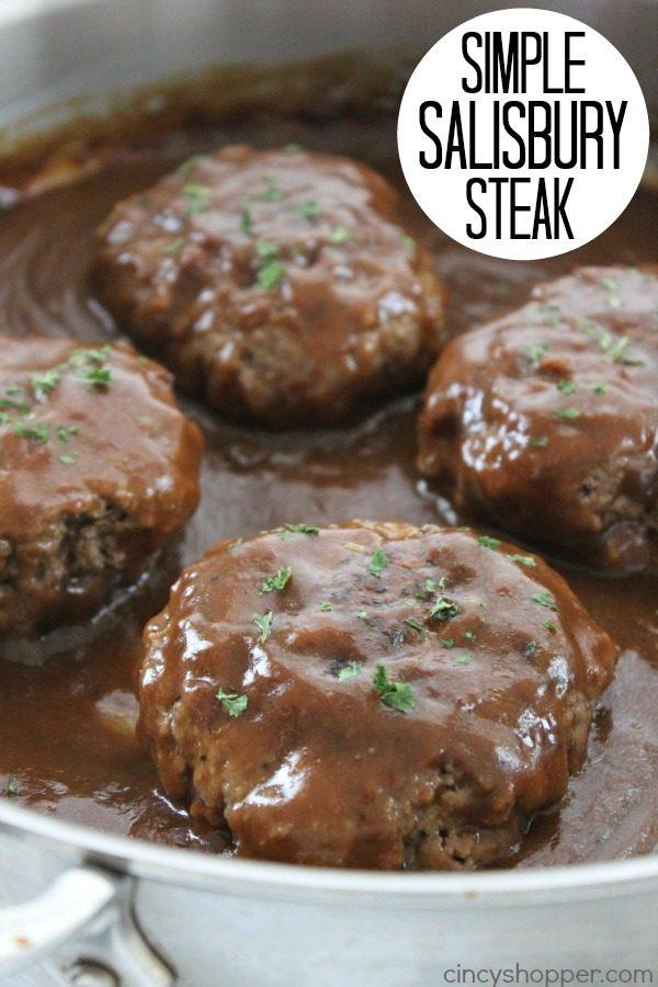 Simple Salisbury Steak from Cincy Shopper