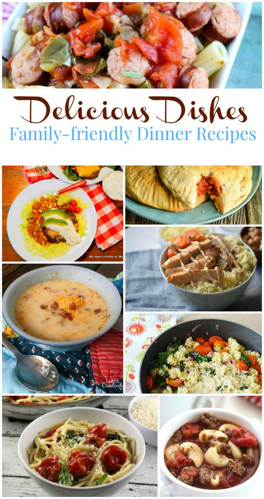 Delicious Dishes #35 - Family-friendly Dinner Recipes