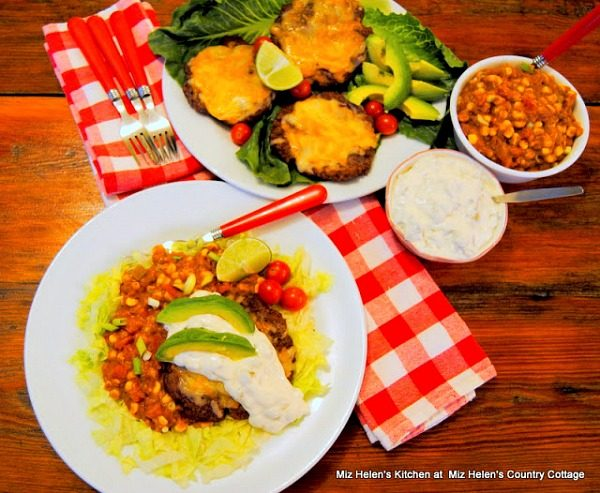 Green Chili Chopped Steak from Miz Helen's Country Cottage