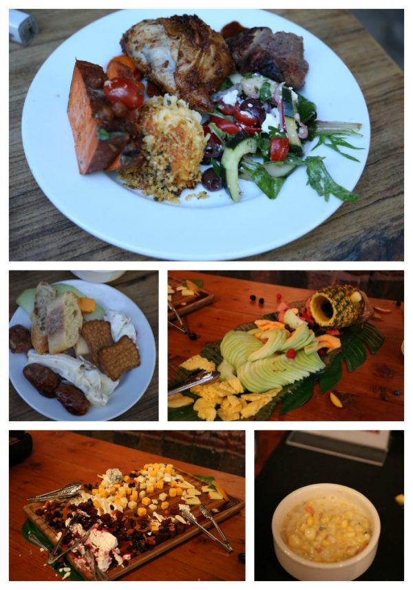 Meals at Safari West