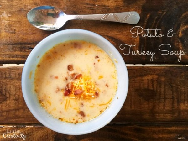 Potato Turkey Soup from Just a Little Creativity short photo