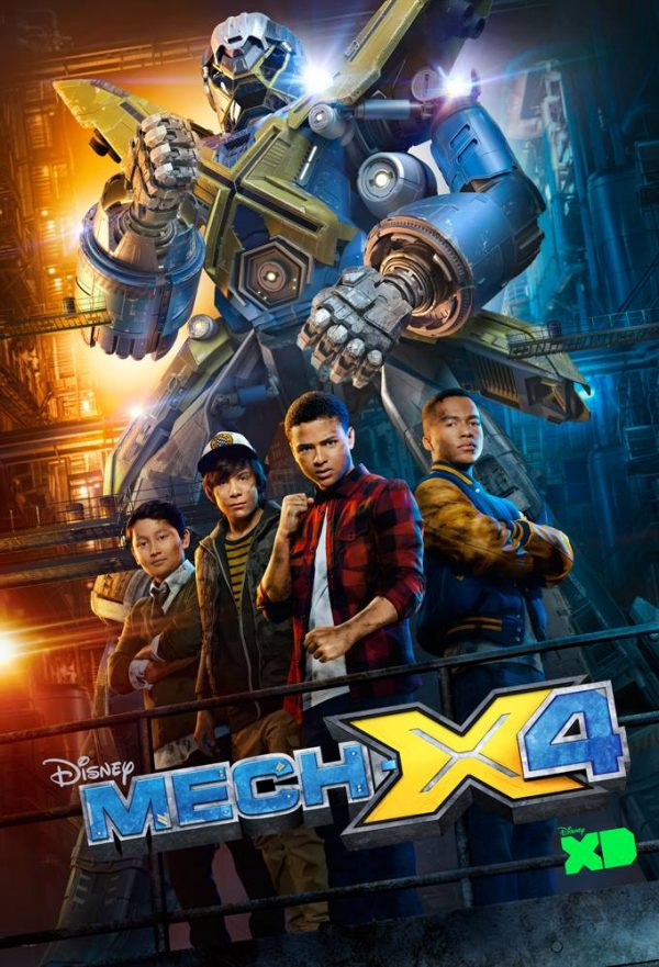 MECH-X4 on Disney Channel