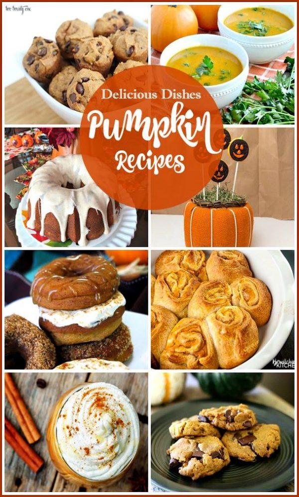 Host Favorites Delicious Dishes Pumpkin Recipes