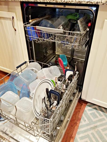 Testing the Samsung StormWash Model 5050 Dishwasher