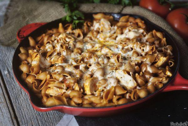 skillet-chicken-parmesan-pasta-from-girl-carnivore