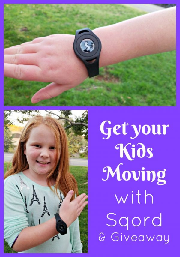 Get your Kids Moving with Sqord and a Giveaway