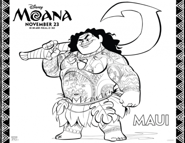photo regarding Printable Moana identified as No cost Printable Moana Sport Sheets and Coloring Webpages