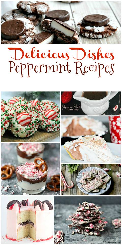 Peppermint Desserts from Delicious Dishes Recipe Party